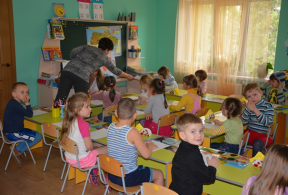 Покращення умов надання послуг дошкільної освіти та створення додаткових місць у ДНЗ № 486 Подільського району м. Києва / KFW СП№13-80-00-005